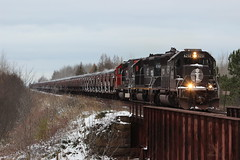 Approaching Kelsey (MrLuebeck) Tags: ic6251 ic6252 dmir406 cn unitedtaconite utac loads ironore taconite u717