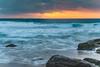 Sunrise Seascape (Merrillie) Tags: daybreak shoreline sand landscape nature australia surf rocks killcarebeach newsouthwales waves centralcoast nsw clouds beach ocean water coastal dawn photography sea sky seascape waterscape coast killcare outdoors