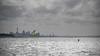 city of sails (Paul J's) Tags: coastal landscape auckland skyline kitesurfing sealink carferry