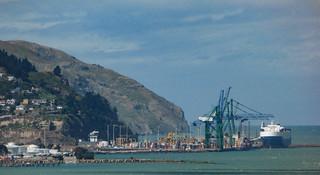 The Port of Lyttelton