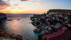 Popeye Sunset - Ph #lorenzomuscoso #popeye #robinwilliams #malta #mellieha #landscape #sunset #sony #sonyalpha #sonyalpha (muscosolorenzo) Tags: instagram ifttt malta valletta valletta2018 stjulian gozo stpaul landscape boats culture suggestion feelings nature cities folk castle urban