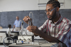 597317111 (evolutionlabs) Tags: 2529years 3034years 7074years africanamericanethnicity authentic authenticity backgroundpeople beaker beard boston candid caucasian chemistry classroom college colorimage concentrating copyspace education experiment experimenting eyeglasses flask focusonforeground headandshoulders hearingimpairment horizontal indoors knowledge laboratory learning man massachusetts midadult midadultmen multiethnicgroup oneperson people performing photography realpeople research researchdevelopment researching school science scientific senioradult seniormen serious settingup spinalmeningitis stemeducation student studying table unitedstates university volumeversuspressure wheelchair youngadult youngmen