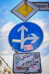 Antifame # Sticker-Overkill (DOKTOR WAUMIAU) Tags: ishootraw fuji fujifilm fujilove fujix fujixt20 lightroom xf35mmf2 xt20 berlin fhain friedrichshain streetphotography