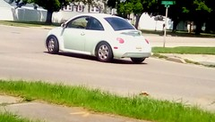 White VW! 365/14 (Maenette1) Tags: vw white corner neighborhood menominee uppermichigan flicker365 michiganfavorites