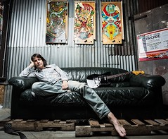 Couch Surfing (Pennan_Brae) Tags: fender guitar fenderjapan offsetguitar fenderguitars fenderguitar electricguitar fendermustang musicphotography musicianphotography