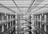 Listening to the Sounds of Silence (*Capture the Moment*) Tags: 2017 architecture architektur atrium backlight backlit fotowalk gegenlicht häuserwohnungen innenarchitektur licht light munich münchen sonya6300 sonyfe1635mmf4zaoss sonyilce6300 monochrome schwarzweiss