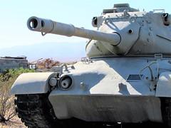 Big WWII tank (thomasgorman1) Tags: tank military army museum canon closeup war wwii ww2 patton memorial desert california ca turret armored historic