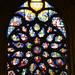 Rose window - Saint-Germain-l'Auxerrois, Paris (Monceau) Tags: stainedglass window saintgermainlauxerrois paris rosewindow 16thcentury pentacost