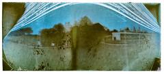 My First Solargraphy (pni) Tags: exposure 142days solarigrafia solarigraphy camerapointingto southbyeast sbe pinholecamera vnf västranylandsfolkhögskola pumpviken pumppulahti karjaa karis finland suomi pekkanikrus skrubu pni position6007523672 camerapointingto171degrees
