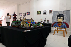 Brickography; day 1 (Frost Bricks) Tags: brickography lego exhibition melbourne