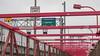 Williamsburg Bridge Walkway, South Williamsburg, New York City (jag9889) Tags: 2017 20170617 bridge bridges brooklyn bruecke brücke crossing dot departmentoftransportation eastriver hdr highdynamicrange infrastructure k179 kingscounty lamppost landmark ny nyc nycdot newyork newyorkcity outdoor pont ponte puente punt red river road sidewalk sign signboard span structure suspensionbridge text truss usa unitedstates unitedstatesofamerica walkway water waterway williamsburg williamsburgbridge jag9889