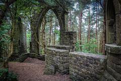 Woodland Ruins (eskayfoto) Tags: canon eos 700d t5i rebel canon700d canoneos700d rebelt5i canonrebelt5i sk201706242346editlr sk201706242346 lightroom yorkshire bingley cottingley westyorkshire ruins ruined woods forest bingleycastle folly stone walls arch wideangle