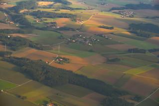 Flying Into Munich