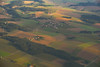 Flying Into Munich (amarilloladi) Tags: germany munich aerial aerialview airplane flying travel hss sliderssunday texture photoshop gauze bavaria münchen deutschland agriculture farming country crops morninglight morning sunlight lush green