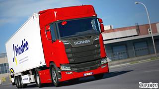 Scania S520 - GRiPTRANS WiP [ETS2ProM]