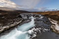 Islandia, Cascada azul de Bruarfoss. (fdecastrob) Tags: bruarfoss islandia iceland cascada waterfall d750