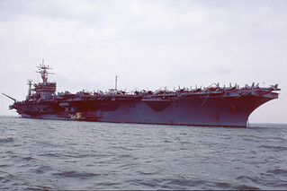 USS Dwight D Eisenhower Stokes Bay 09-06-90