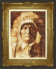 R-Standing Bear - Ogalala-1907 Mosaïque