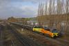 Horbury, West Yorkshire (DieselDude321) Tags: 70814 class 70 colas rail 6e32 0855 ribble preston lindsey oil refinery tanks horbury wakefield west yorkshire