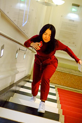 Musical stairs (----------------------xxx-----------------------) Tags: vienna wien austri europe centraleurope city travel autumnwinter fuji fujifilm digital csc color colour xe1 fujixe1 fujinon 35mm