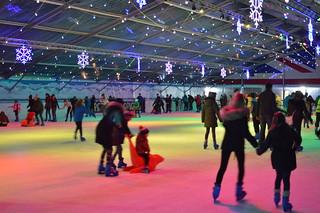 Ice Skating at the Tropicana