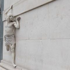 Living statue (vpickering) Tags: livingstatues washingtonsquare washingtonsquarearch newyorkcity livingstatue