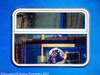 Other Woman (Aleksandar M. Knezevic Photography) Tags: ngc hungary budapest magyar train trainstation station carwindow bag woman face print plastic blue left forgoten