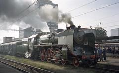 2001-09-22 Steam Locomotive (beranekp) Tags: czech railway eisenbahn železnice locomotive lokomotive steam dampf most brüx