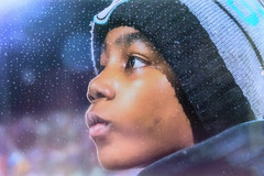 Hoping for hope (Pejasar) Tags: rain cold weather footballgame behind statechampionshipgame footballstand stadium child teamplayersbrother season new challenge hat coat waterdrops