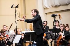 DSC_6097 (Joseph Lee Photography (Boston)) Tags: dubois harvard philharmonic orchestra symphony violin trumpet cello