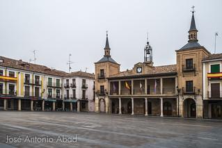 Plaza Mayor. El Burgo de Osma, Soria