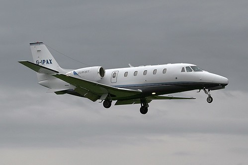 Eurojet G-IPAX Cessna 560XL Coventry(5)