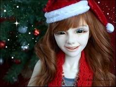 Smile! It's Christmas time! (Essential Resinescence) Tags: bjd doll resin poupee