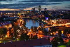 Vilnius Skyline (hapulcu) Tags: baltic lietuva litauen lithuania lituanie vilnius wilna wilno automne autumn autunno herbst toamna