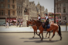 London-Mounties (RickLev) Tags: 5d ancient canon history levesque markii photo photographer rick scotland sunny tiltshift trip vacation beautiful image old photog photography sunshine vintage