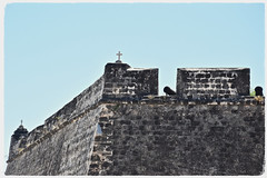 Crosses and Cannons (The Spirit of the World) Tags: fort fortsaosabastiao ilha island ilhademocambique crosses cannons stone fortress historical unescoworldheritagesite walls colony portugal mozambique africa eastafrica