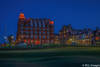 """The 18th hole, Old Course, St Andrews (KCL Images) Tags: street """"christmastree"""" shops evening twilight """"oldcourse"""" """"18thhole"""" scotland fife """"standrews"""" """"hamiltongrandhotel"""""""