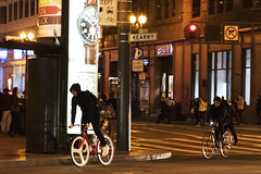 Market Street (Jay Pasion) Tags: jaypasion nikon d7500 sanfrancisco sf bayarea california downtown street night photography people bike road lights