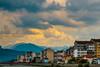Samokov (T is for traveler) Tags: travel traveler traveling tisfortraveler digitalnomad backpacker photography exploration summer trip europe bulgaria city samokov rila mountain view sunset skyline
