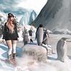 James Penguin (Arwen Clarity) Tags: ski skiis winter penguin snow lelutka pose people 2ndlife sl second secondlife life mesh maitreya avatar avi
