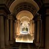 Perspective Borromini (Renato Morselli) Tags: prospettiva borromini palazzo spada roma lazio biglietto tridimensionale