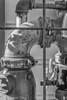 Simplicity 407RTJ (lorinleecary) Tags: california cambria sigma60mm blackandwhite machinery pipes