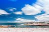 Clovellygood (blentley) Tags: canon eos 5dmkiii 5d3 landscape wide wideangle beach summer clovelly swim surf ocean blue long exposure sunbathing sunbaking sun clouds wind relaxing cloey