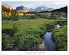 Meadow, Stream, Evening (G Dan Mitchell) Tags: john muir wilderness mud lake meadow stream grass mountains recesses mono nature landscape evening sierra nevada california usa north america meander