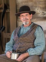 IMGPK00143_Fk - Spring Mill State Park - Civil War Days (David L. Black) Tags: springmillstatepark stateparks civilwarreenactment olympuspenf olympus45f18