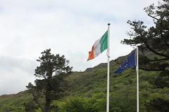 IMG_3222 (avsfan1321) Tags: kylemoreabbey ireland countygalway connemara green flag irishflag