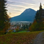 Autumn morning over Kiefersfelden, Bavaria, Germany thumbnail