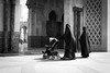 Women wearing niqabs in Casablanca's Mosque, Morocco (giuliomignani) Tags: countries globetrotter life morocco nations travel trip vacation world casablanca islam mosque muslims niqab