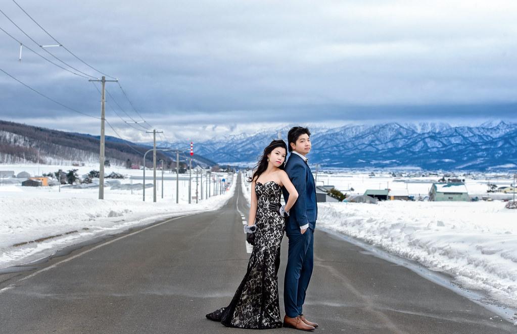 北海道婚紗 富良野婚紗拍攝 禮服: Toris Wedding