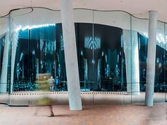 An inside view of the Elbphilharmonie Plaza (HafenCity Hamburg) (Lenwo) Tags: elbphilharmonie hafencity hamburg plaza olympus em5markii 25mm abstract